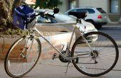 RGB LED luz bicicleta de seguridad (partido) ($35)