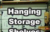 Colgar estantes de almacenamiento