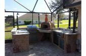 Cómo construir una cocina al aire libre