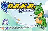 Cómo usar Pepakura Viewer