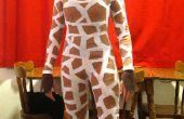 Cómo hacer un disfraz de jirafa barato