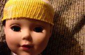 Fácil coser No muñeca esquí tapa