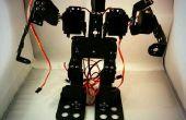 ¿La instalación pasos de pequeño exquisito 9DOF marcha Robot humanoide con danza