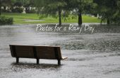 Fotos para un día lluvioso: inclemente fotografía