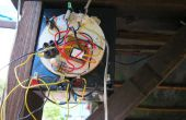 Cargador solar con interruptor de noche de día