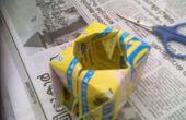 Motor de arranque semilla cubo de origami