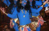 Armado disfraz hallowen dios indu india Kali traje 4 brazos Disfraz Kali 4 Brazos TENERIFE CARNAVAL ORIGINAL DISFRAZ diosa