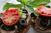 Mini Pizzas de vegano
