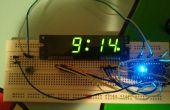 Reloj de Arduino usando reloj estándar