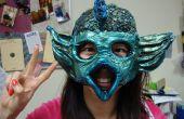 Crear cualquier forma Papier Maché máscara