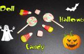 Dulces de halloween miniatura