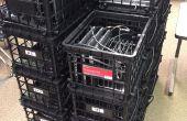 Portátil de carga cajón para aulas