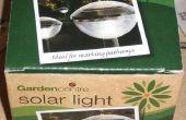 Luz solar barata desmontar y reutilizar... tipo de.