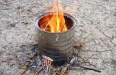 Estufa de tambor de aceite