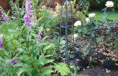 Obelisco de jardín metal