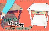 ¿Cómo restaurar tus muebles de madera viejos?