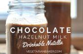 Cómo hacer leche de avellana Chocolate | Potable Nocilla