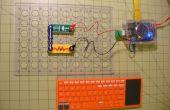 Parpadeo rápidos circuitos LED con ordenador de Kano