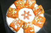 Pastel de zanahoria leche