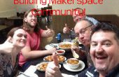 Colaboración de miembros de Makerspace - mediante telegrama para comunicar