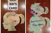 Tarjeta de arte infantil fácil