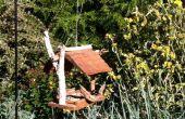 Reclamado de cedro tejas comedero
