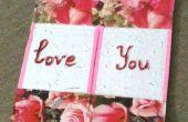Mi amor sin fin con una tarjeta sin fin!