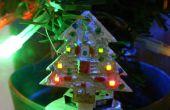 Mini animación árbol de Navidad del LED 32 x 32mm