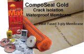 Oro de Composeal y radiante calor suelo guía de instalación de sistemas de