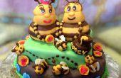 Torta de la abeja de la miel