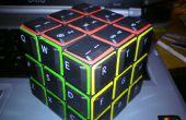 Cómo hacer un cubo de Rubik QWERTY