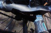 Adaptador de cerradura de la rueda de desenganche rápido para home trainer