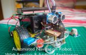 Automatizado Robot de navegación con Gas (MQ-2), la temperatura y la humedad (DHT11)