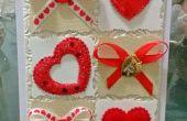 Tarjeta de San Valentín hecha a mano