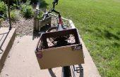Cómo hacer calcomanías en una bicicleta con una caja de leche. ¿