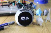 Metro Ultravioleta y alcoholemia Llavero - 3D impreso - IoT Blynk