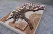 Cómo hacer un 3D madera chapa Comic cubrir