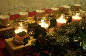 Hacer su propio candelabro de Navidad