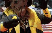 """Cómo hacer un disfraz de Sinestro (amarilla linterna) Corp. """"Scarecrow"""""""