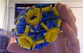 Cómo hacer Snapology Origami