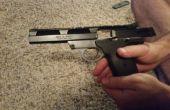 Volver a montar un campo pelado pistola S & W 22A