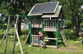 Solar Swing-Set (PV Playhouse)