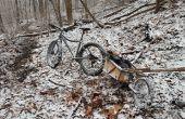 Modificación de remolque para bicicleta de grasa de la bici