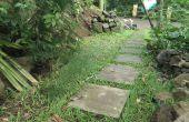 Cómo construir las losas y patio/ruta/paseo