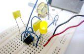 Simple (y sucio) pulso ancho de modulación (PWM) con temporizador 555