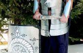 Cómo hacer construir un traje de Gondorian armaduras de materiales auténticos (bueno, casi)