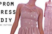 Vestido de tiras cuello DIY || PATRÓN libre