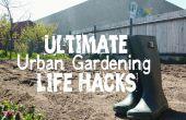 40 + hacks para usted (el jardinero urbano)