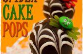 Cómo hacer araña Cake Pops con Webs