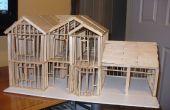 Casa de escala modelo